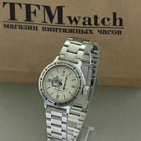 Восток Командирские мужские часы на браслете , фото 1