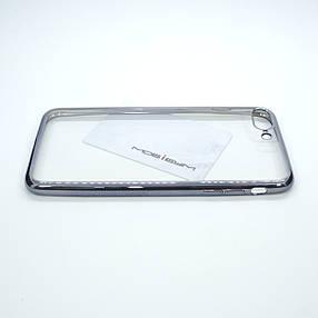 Чехол TPU bamper iPhone 7 Plus silver, фото 2