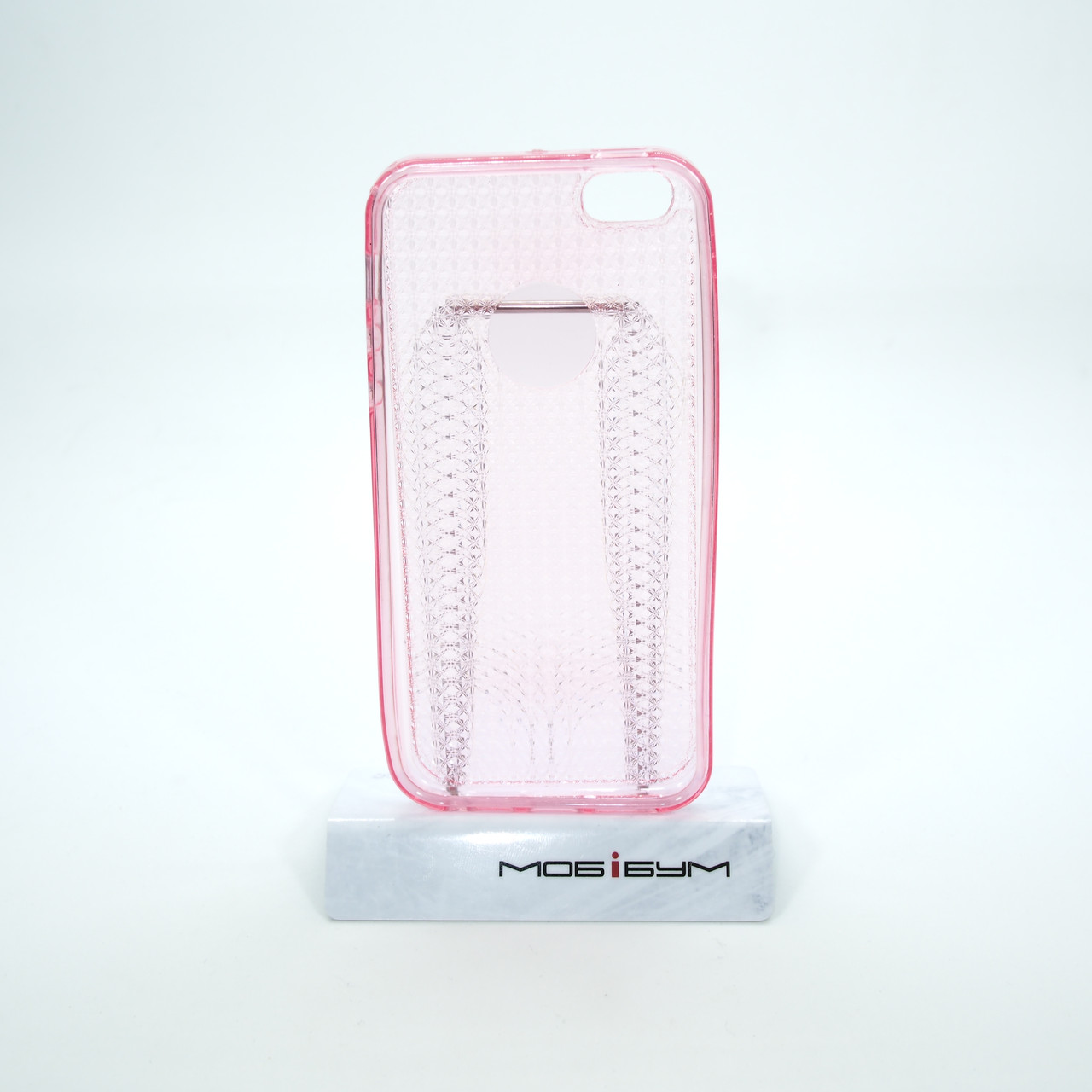 TPU Diamond Shine iPhone 5s SE pink Apple Для телефона