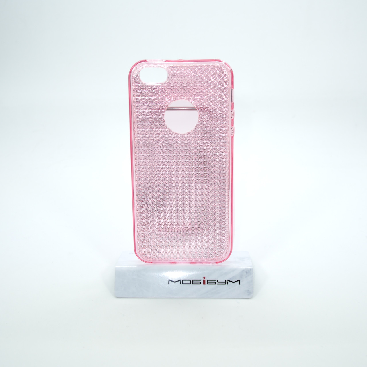 Чехол TPU Diamond Shine iPhone 5s/SE pink
