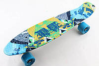 Скейт Penny Board Supreme Fish Camel
