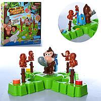 Интерактивная развивающая настольная игра WS5326  обезьянки, Игра бат! пласт. Охота за сокровищами.