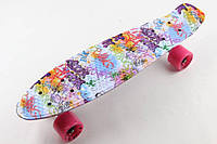 Скейт Penny Board Supreme Fish Grafity