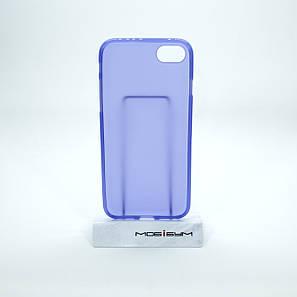 Чехол TPU iPhone 7 violet, фото 2