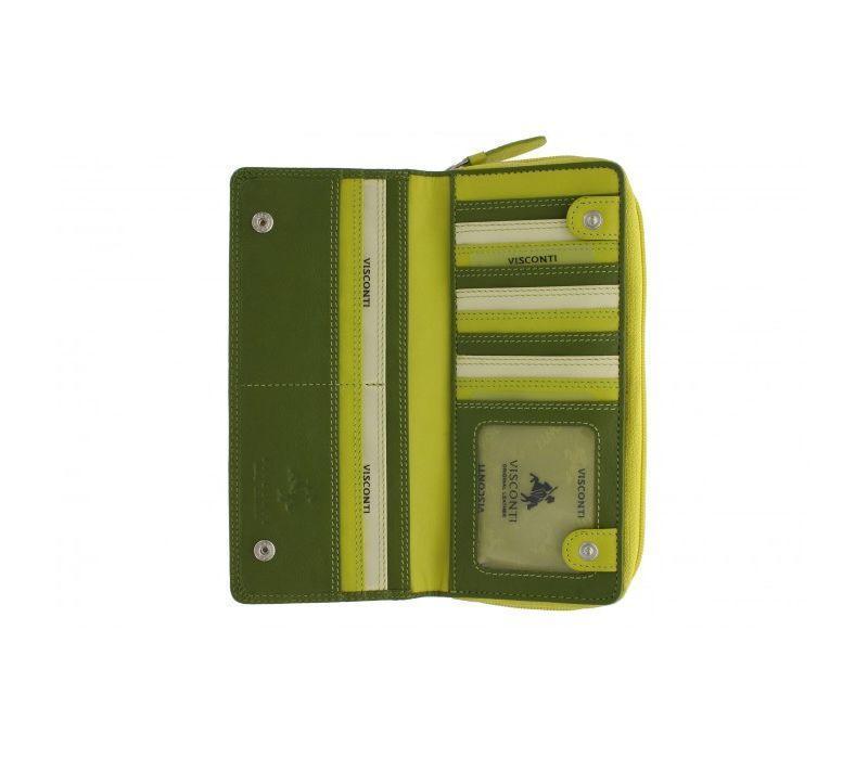 7d7160a1693b Женский кошелек кожаный Visconti RB-55 Lime Multi, цена 2 238 грн., купить  в Киеве — Prom.ua (ID#811121341)