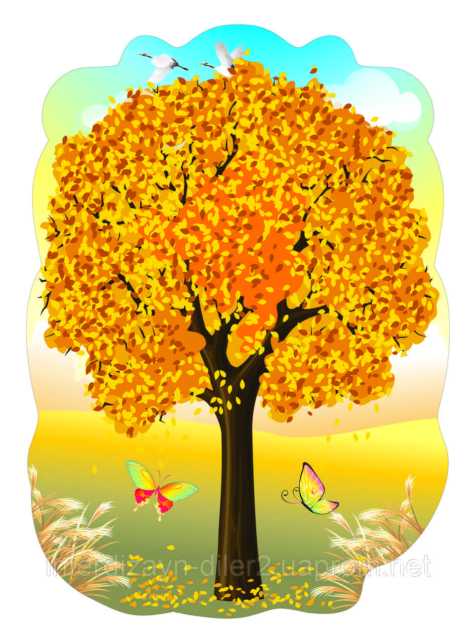 картинки осеннее дерево