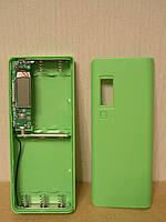 Корпус PowerBANK  (5×18650) LCD зеленый