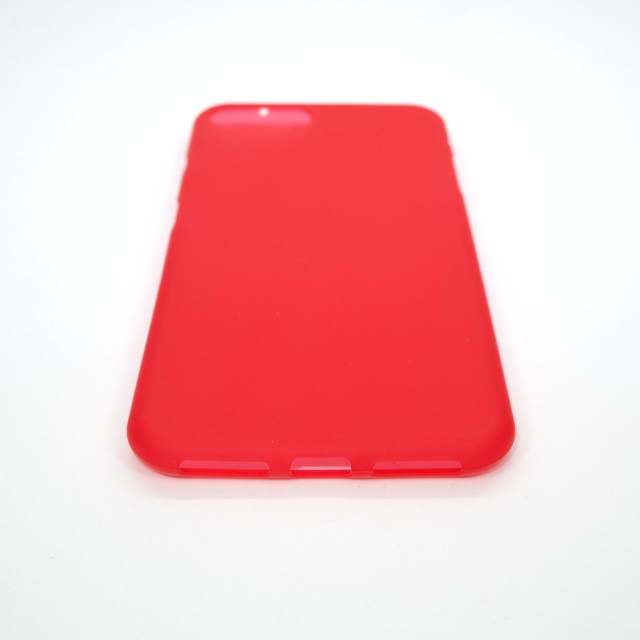 TPU iPhone 8 Plus 7 red Для телефона Apple Чехол