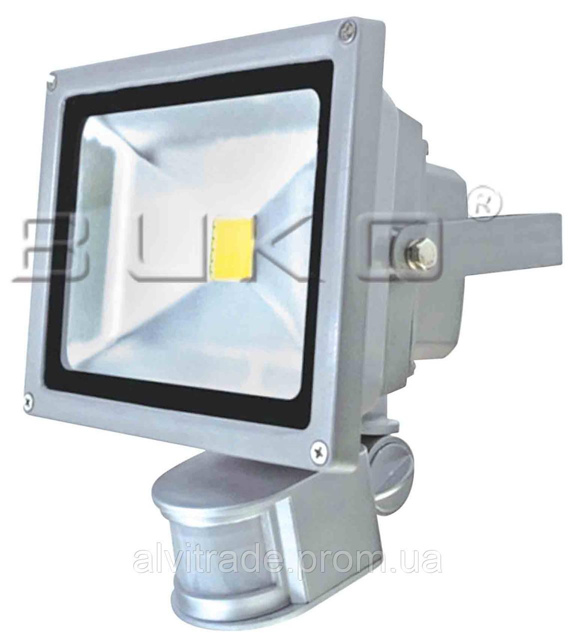 Светодиодный прожектор с сенсором WATC WT383, 20W