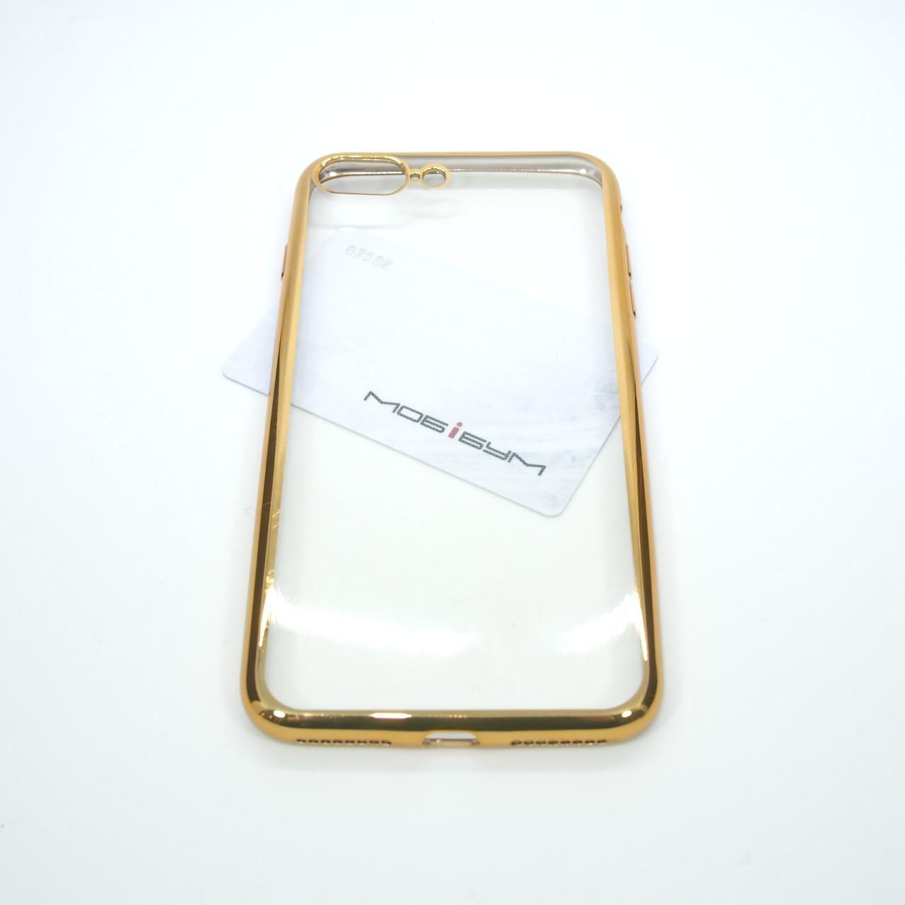 Чехол TPU bamper iPhone 7 Plus gold