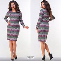 Женское модное платье  АЦ93 (бат), фото 1