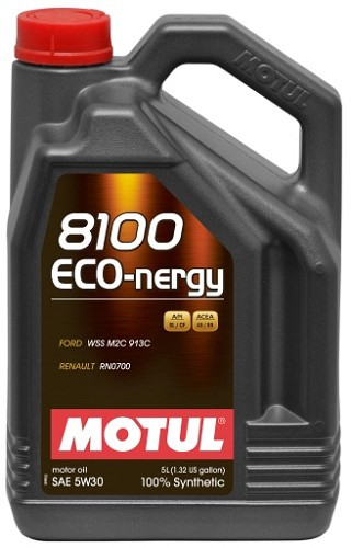 МОТОРНОЕ МАСЛО СИНТЕТИКА Motul 8100 Eco-nergy 5W30 (5л)