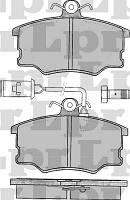 Тормозные колодки передние для Мазда 626 / Mazda 626 с 1987 по 1992