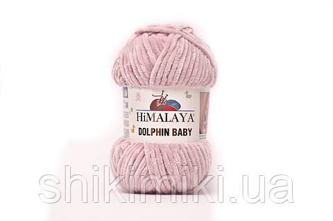 Пряжа велюровая Dolphin Baby,цвет Чайная роза