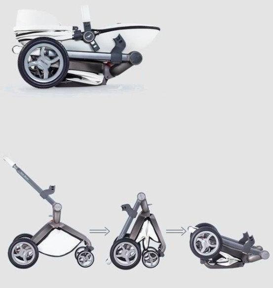 коляска hot mom в собранном виде