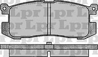 Тормозные колодки задние для Форд / Ford Probe