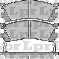Тормозные колодки задние для Мазда 929 / Mazda 929 с 1987 года