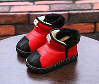 Детские Красные Ботинки — Купить Недорого у Проверенных Продавцов на ... 2bb1b9fd4a1cf