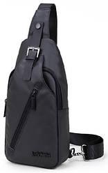 Удобная сумка-мессенджер через плечо для бизнеса и путешествий Arctic Hunter XB13006, влагозащищённая, 4л