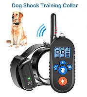 Электроошейник M556 для дрессировки собак, электронный ошейник аккумуляторный с экраном - NEW PET998DB -