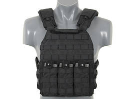 First Defense Plate Carrier - Black [8FIELDS]