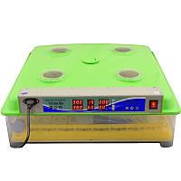 Инкубатор с автоматическим переворотом яиц  Tehno MS-98 650х270х650 мм Зеленый
