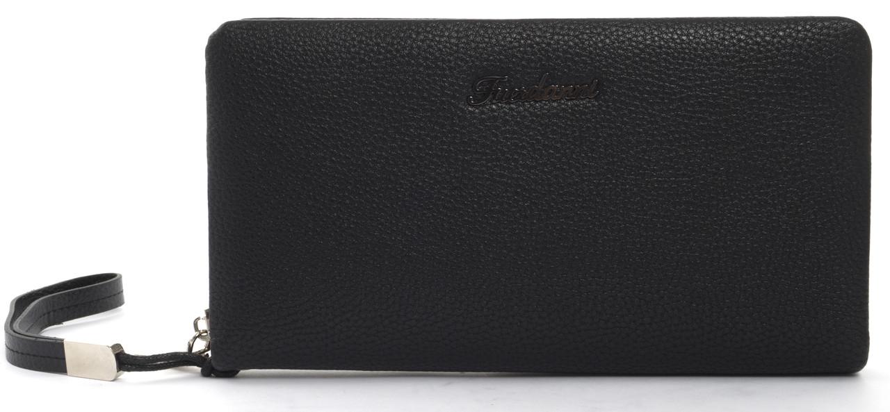 Мужской стильный классический портмоне барсетка с качественной PU кожи FUERDANNI art. 818