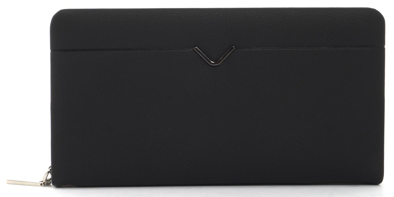 Мужской стильный классический портмоне барсетка с качественной PUкожиFUERDANNI art. 828-1 матовый
