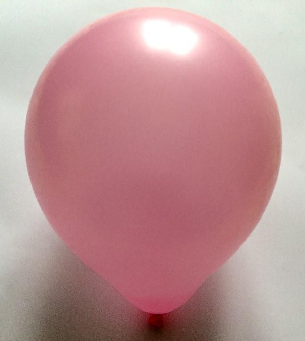 Латексный шар матовый розовый 10″
