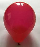 Латексный шар матовый красный 10″