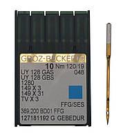 Иголка к швейной машинке, GROZ-BECKERT, UY 128 GAS №120/19