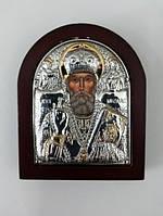 """Икона """"Николай Угодник"""" или """"Угодник"""" 9 х 7,5 см"""