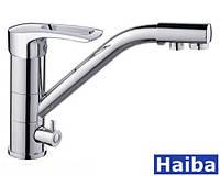 Смеситель для кухни   Haiba    Hansberg  - 021, фото 1
