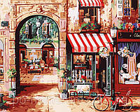 Картина по номерам Menglei MG1106 Парижская улочка 2  40 х 50 см 950 город, фото 1