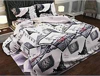 Полуторный комплект постельного белья 100% хлопок