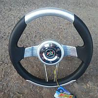 Руль №581 (серый) с переходником на ВАЗ 2115..