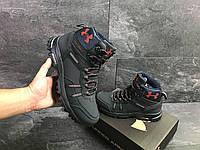 Мужские зимние кроссовки Under Armour 6719 темно синие, фото 1