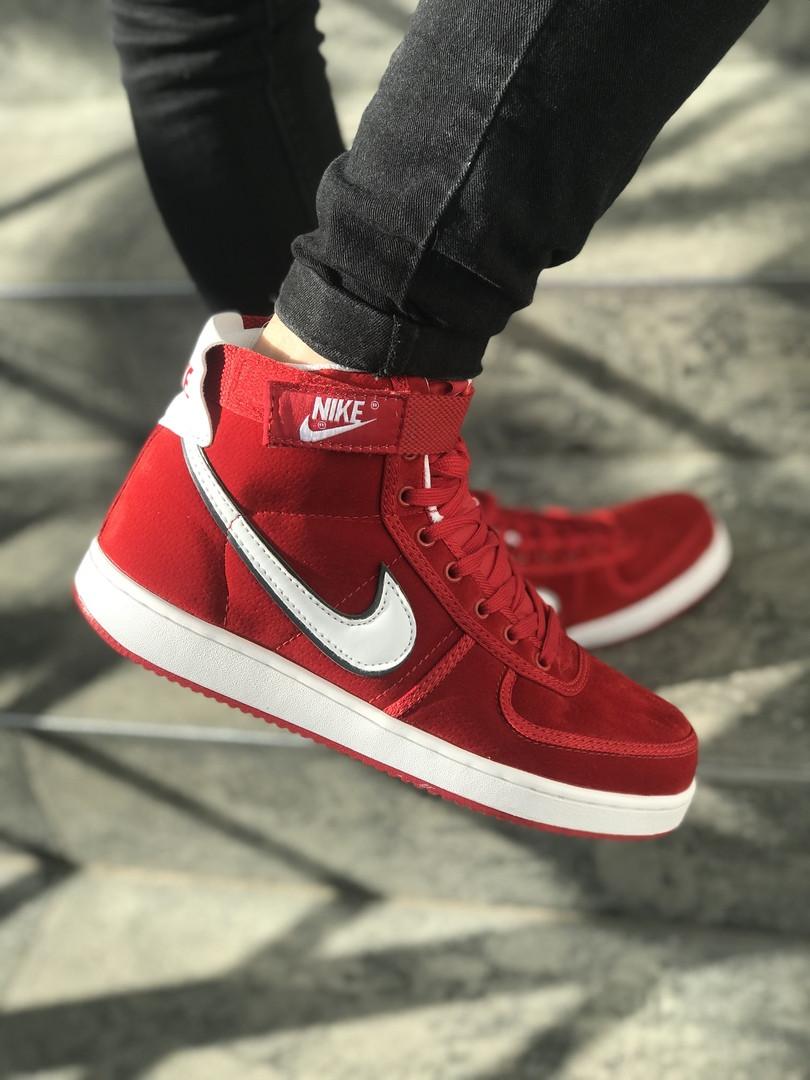 84b3bc01 Мужские кроссовки Nike AIR FORCE красные с белым топ реплика -  Интернет-магазин обуви и