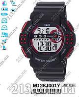 Электронные часы  Q&Q M128J001Y АТО