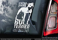 Стаффордширский Бультерьер (Staffordshire Bull Terrier) стикер