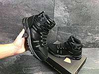 Мужские зимние кроссовки Under Armour 6721 черные, фото 1