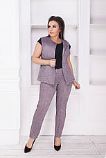 Костюм двойка, брюки+жилет, фото 2