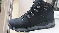 Зимняя кожаная мужская обувь ecco 3847