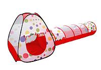Детская игровая Палатка с переходом 66899