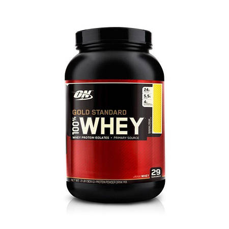 Optimum Nutrition 100% Whey Gold Standard 908г