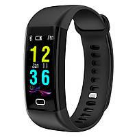 Браслет с тонометром давление крови F07 пульсометр калории датчик сна смарт часы для здоровья iPhone и Android