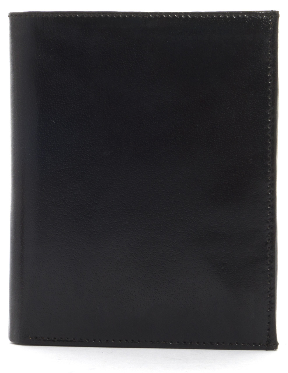 Кошелек мужской кожаный с большим количеством отделений BON VOYAGE art. MN472 черный, шлифованная кожа, фото 1