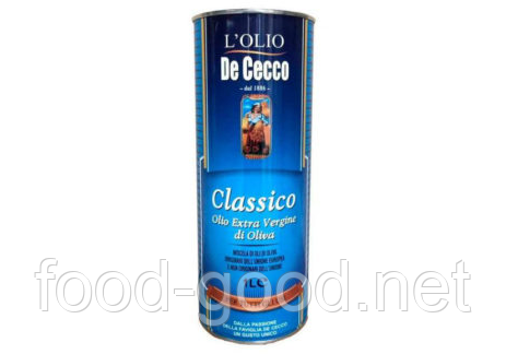 Масло оливковое De Cecco il classico extra vergine, 1л