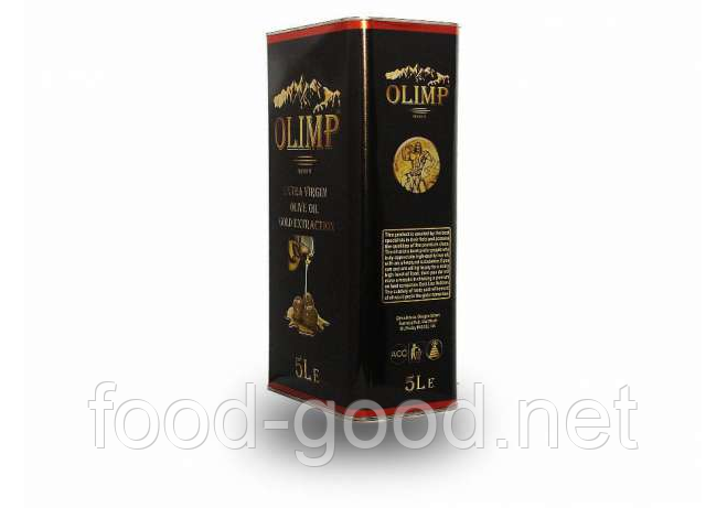 Масло Оливковое Olimp 5л, Греция