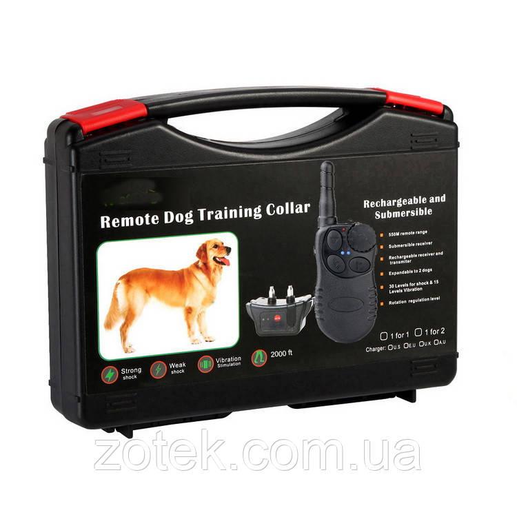 Електронний нашийник T728 для дресирування собак, електронашийник акумуляторний